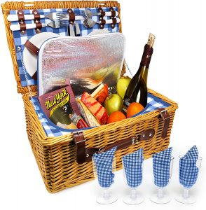 nature gear picnic basket