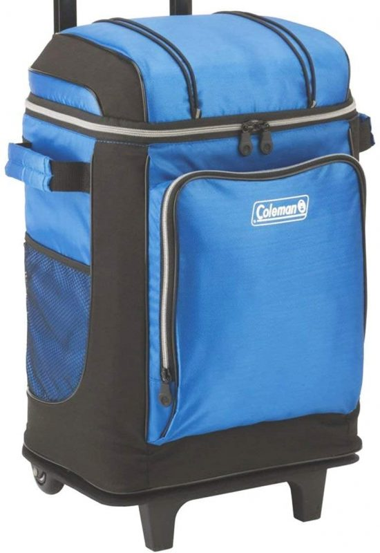 Coleman Soft Cooler with Removable Wheels