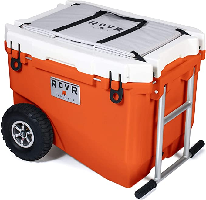 RovR Wheeled cooler Camping Rolling Cool Box